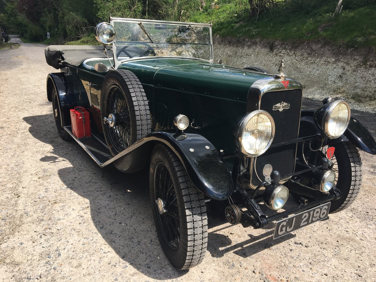 1930 Alvis Silver Eagle Four Seat Tourer For Sale (picture 1 of 6)