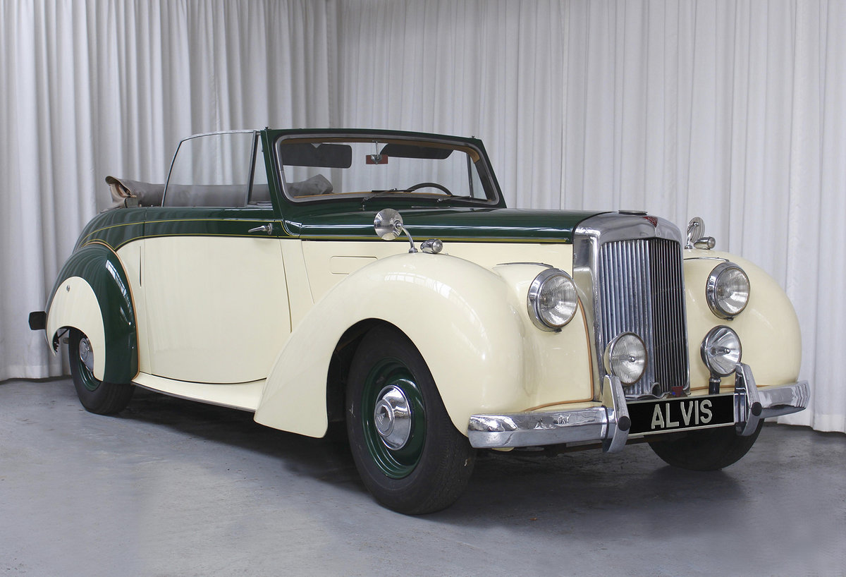 1952 TA21 DHC by Tickford in LHD For Sale (picture 1 of 6)