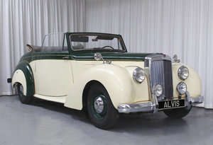 1952 TA21 DHC by Tickford in LHD For Sale