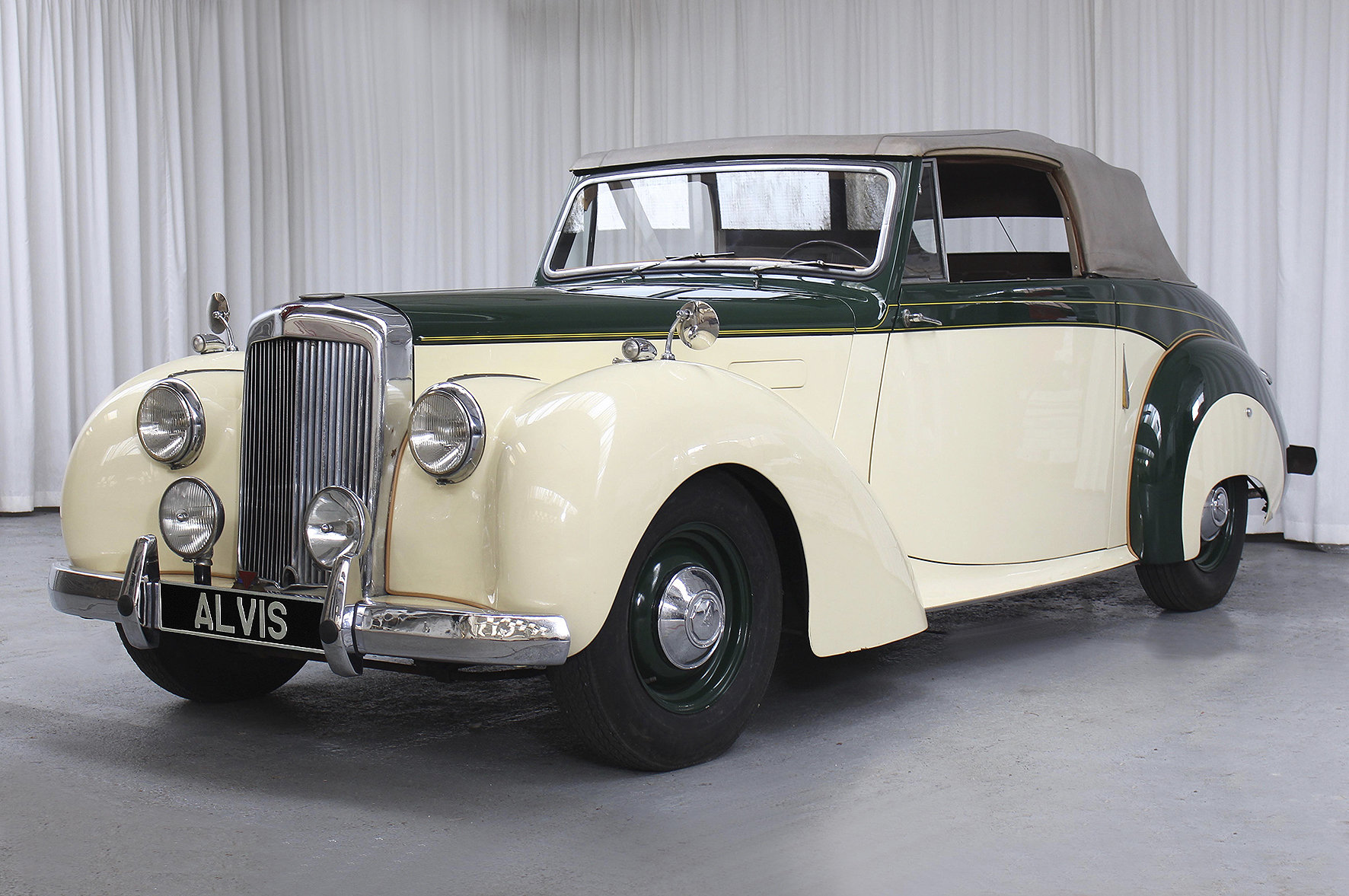 1952 TA21 DHC by Tickford in LHD For Sale (picture 2 of 6)