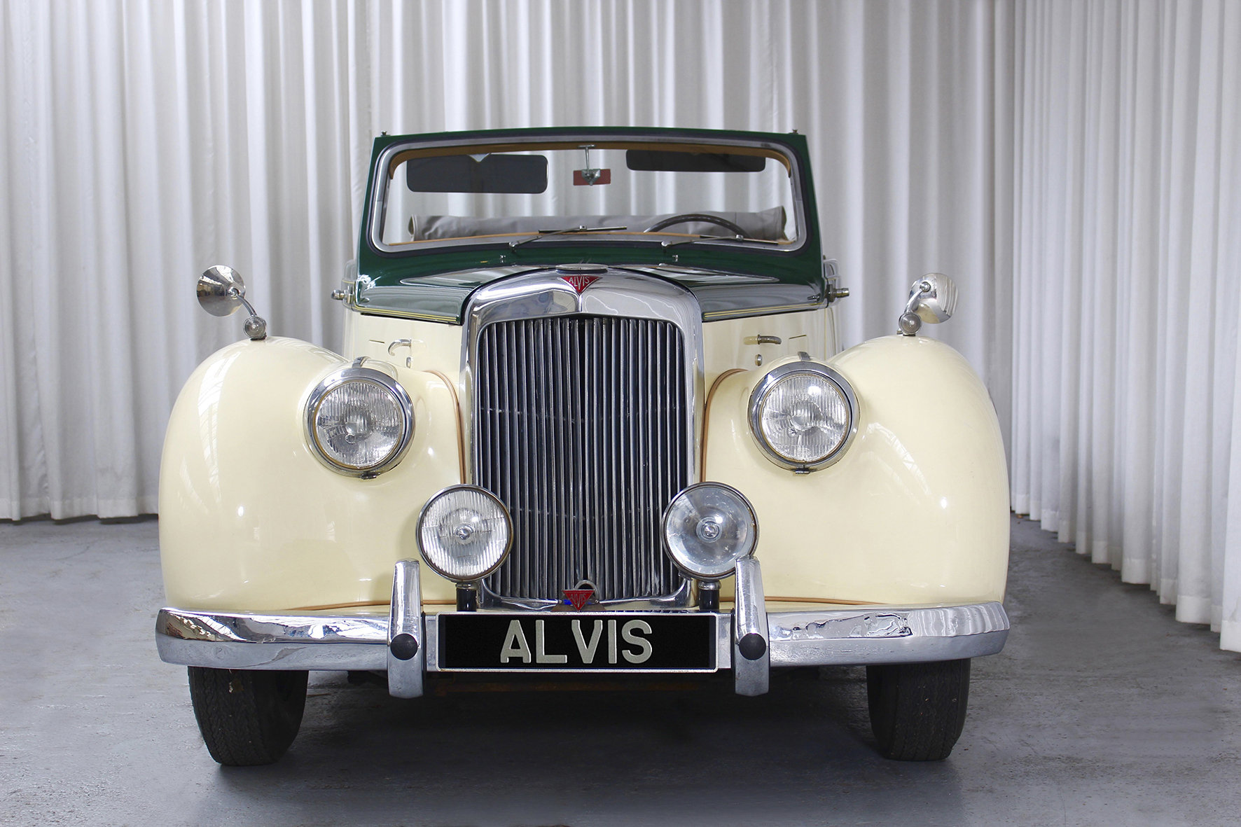 1952 TA21 DHC by Tickford in LHD For Sale (picture 3 of 6)