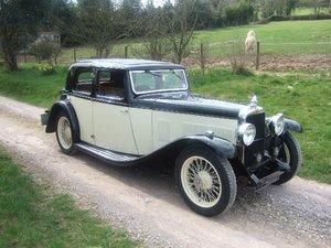 1933 Alvis SA 16.95 Sixteen saloon