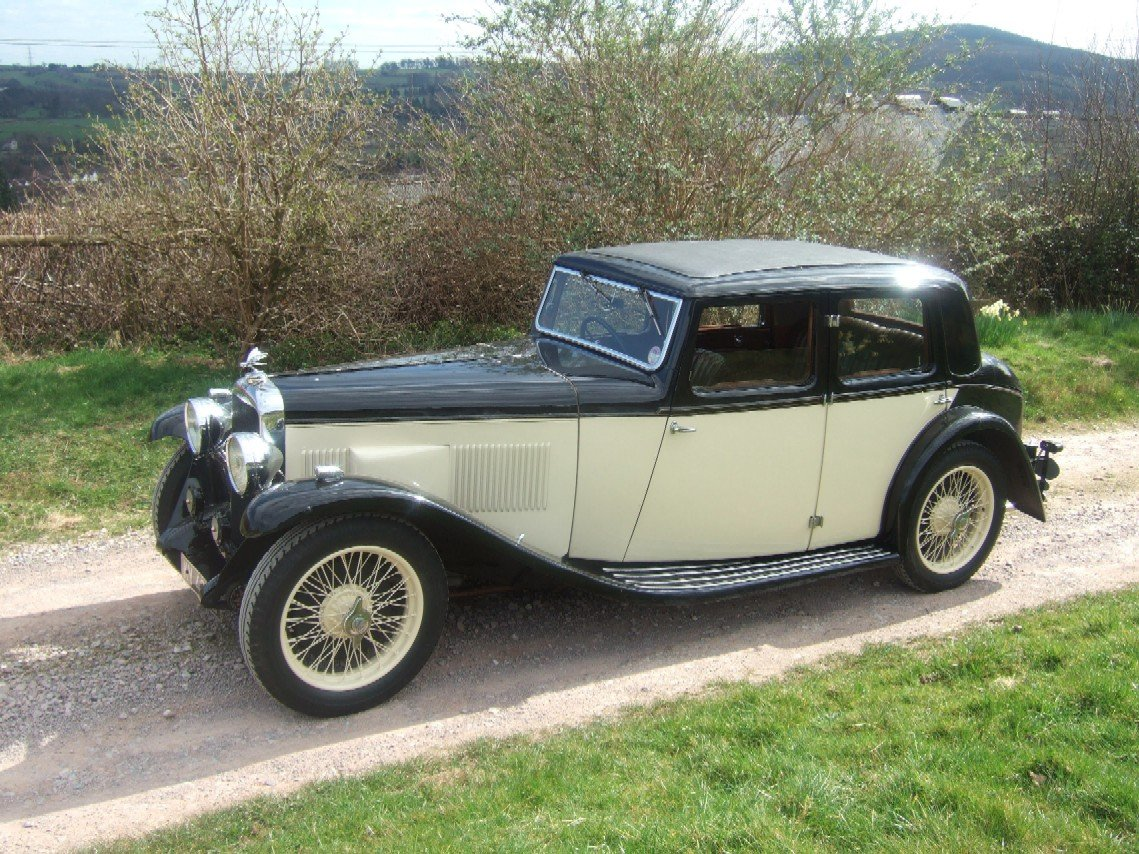 1933 Alvis SA 16.95 Sixteen saloon For Sale (picture 2 of 6)
