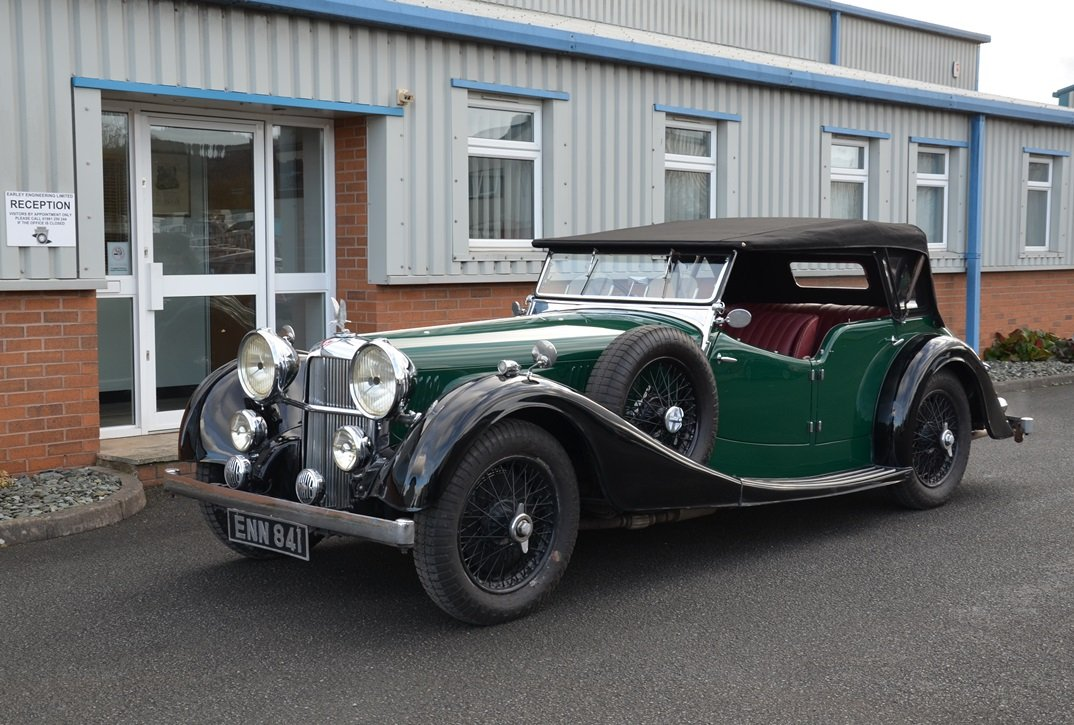 1938 Alvis Speed 25SC Tourer For Sale (picture 1 of 6)