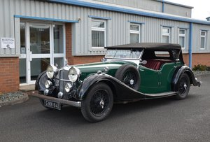1938 Alvis Speed 25SC Tourer