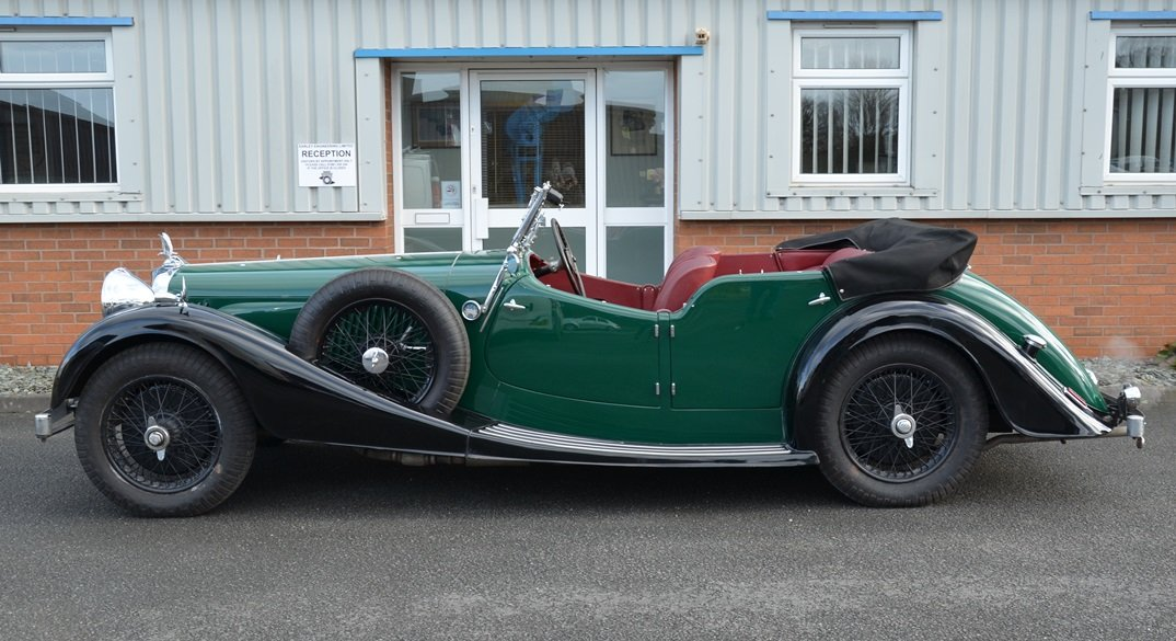 1938 Alvis Speed 25SC Tourer For Sale (picture 5 of 6)