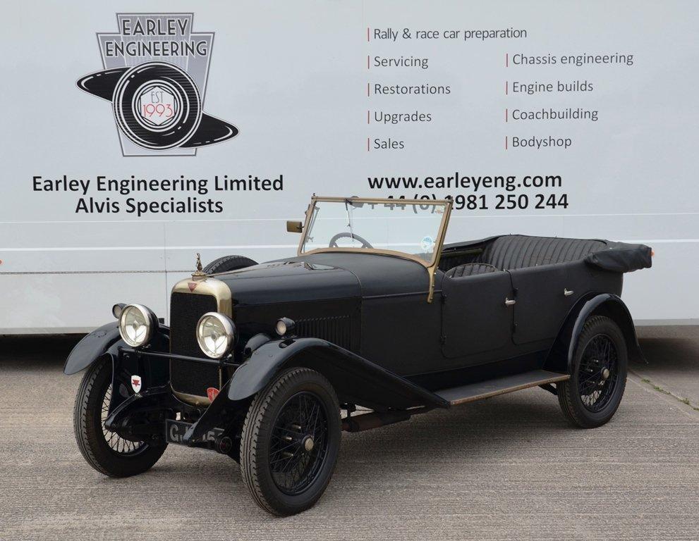 1930 Alvis Silver Eagle  For Sale (picture 1 of 6)