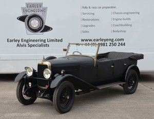 1930 Alvis Silver Eagle  For Sale