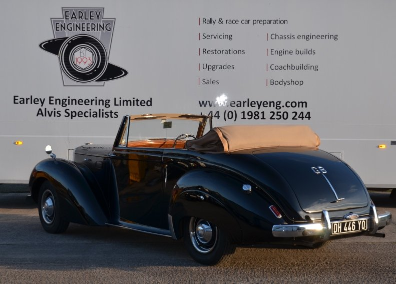 1954 Alvis TA21 Tickford Drophead Coupe For Sale (picture 3 of 6)