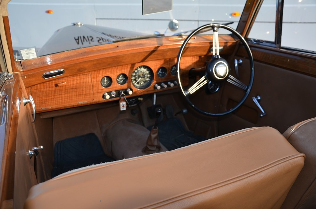 1954 Alvis TA21 Tickford Drophead Coupe For Sale (picture 6 of 6)
