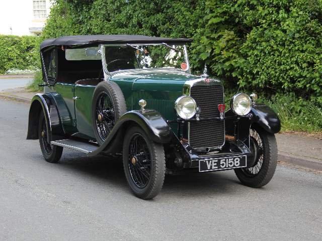 1931 Alvis 12/50 TJ Four Seat Tourer For Sale (picture 1 of 12)