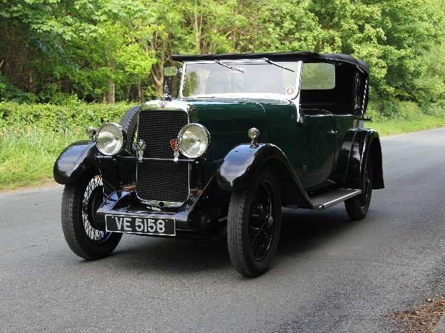 1931 Alvis 12/50 TJ Four Seat Tourer For Sale (picture 2 of 12)