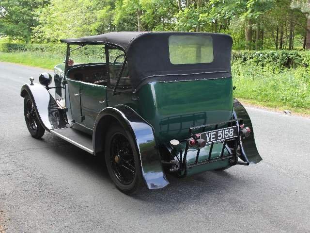 1931 Alvis 12/50 TJ Four Seat Tourer For Sale (picture 3 of 12)