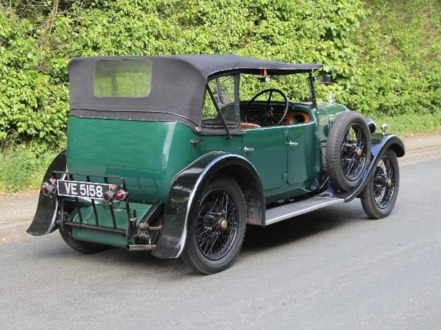 1931 Alvis 12/50 TJ Four Seat Tourer For Sale (picture 4 of 12)