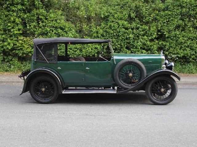 1931 Alvis 12/50 TJ Four Seat Tourer For Sale (picture 5 of 12)