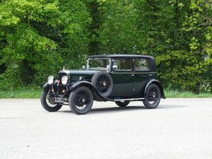 1932 Alvis 12/50 TJ Atlantic Saloon For Sale by Auction