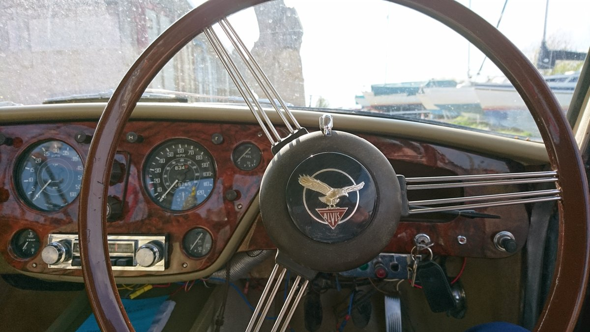 1960 Alvis TD21 Saloon For Sale (picture 5 of 6)