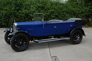 1923 Alvis 12/40 with 12/50 engine upgrade NOW SOLD SOLD