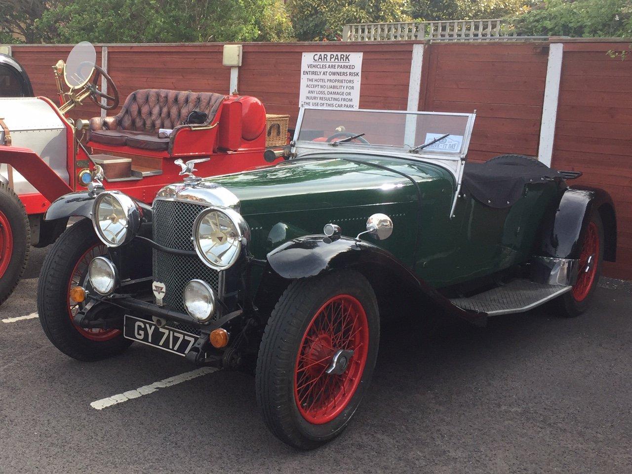 Alvis Speed 20 SA 1932 Vanden Plas body For Sale (picture 1 of 6)