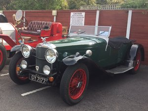 Alvis Speed 20 SA 1932 Vanden Plas body For Sale