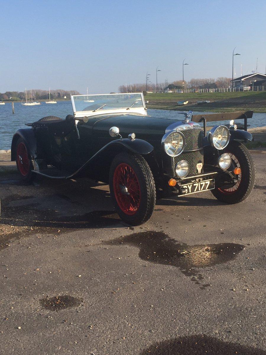 Alvis Speed 20 SA 1932 Vanden Plas body For Sale (picture 2 of 6)