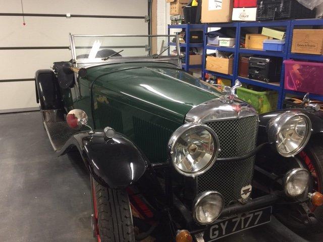 Alvis Speed 20 SA 1932 Vanden Plas body For Sale (picture 3 of 6)
