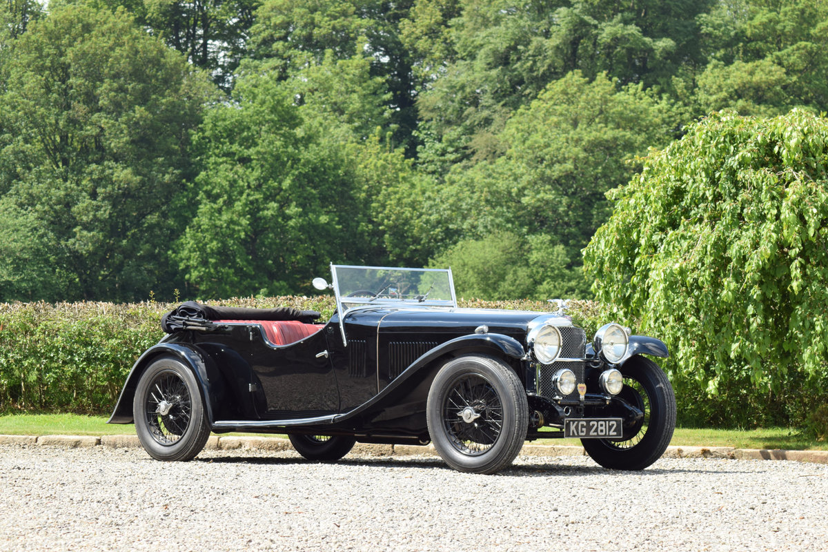 1933 Alvis Speed 20 SA VDP Tourer  For Sale (picture 1 of 6)