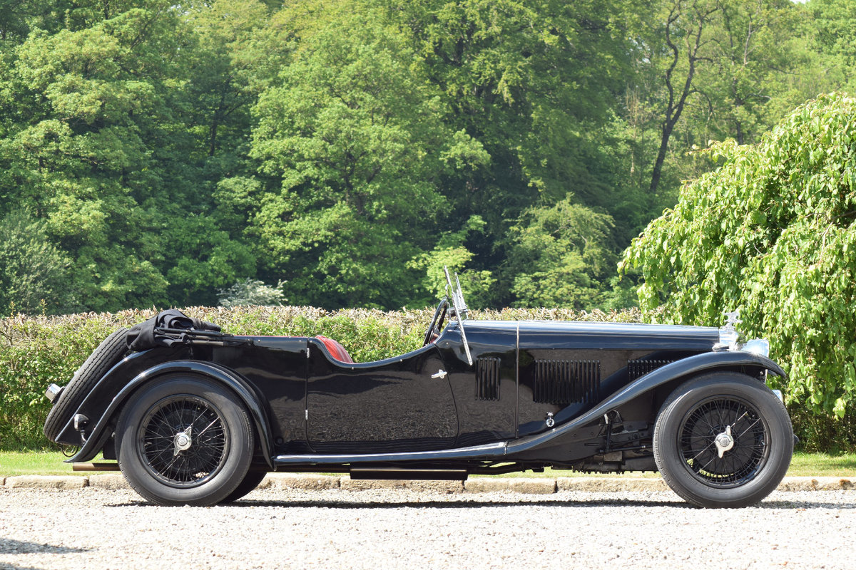 1933 Alvis Speed 20 SA VDP Tourer  For Sale (picture 2 of 6)