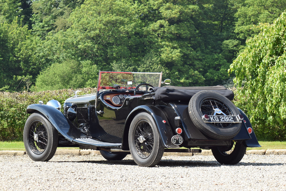 1933 Alvis Speed 20 SA VDP Tourer  For Sale (picture 4 of 6)