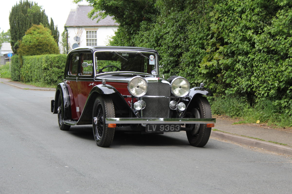 1934 Alvis Speed 20 SB Sports Saloon For Sale (picture 1 of 12)