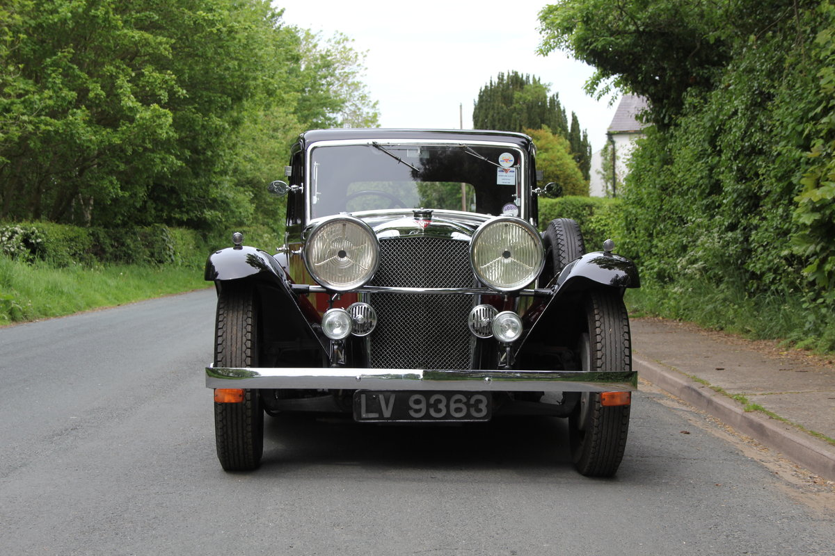 1934 Alvis Speed 20 SB Sports Saloon SOLD (picture 2 of 12)