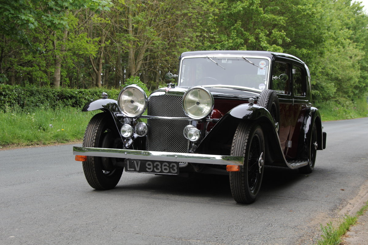 1934 Alvis Speed 20 SB Sports Saloon SOLD (picture 3 of 12)