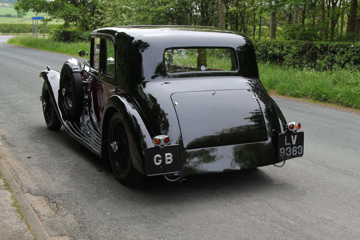 1934 Alvis Speed 20 SB Sports Saloon For Sale (picture 5 of 12)