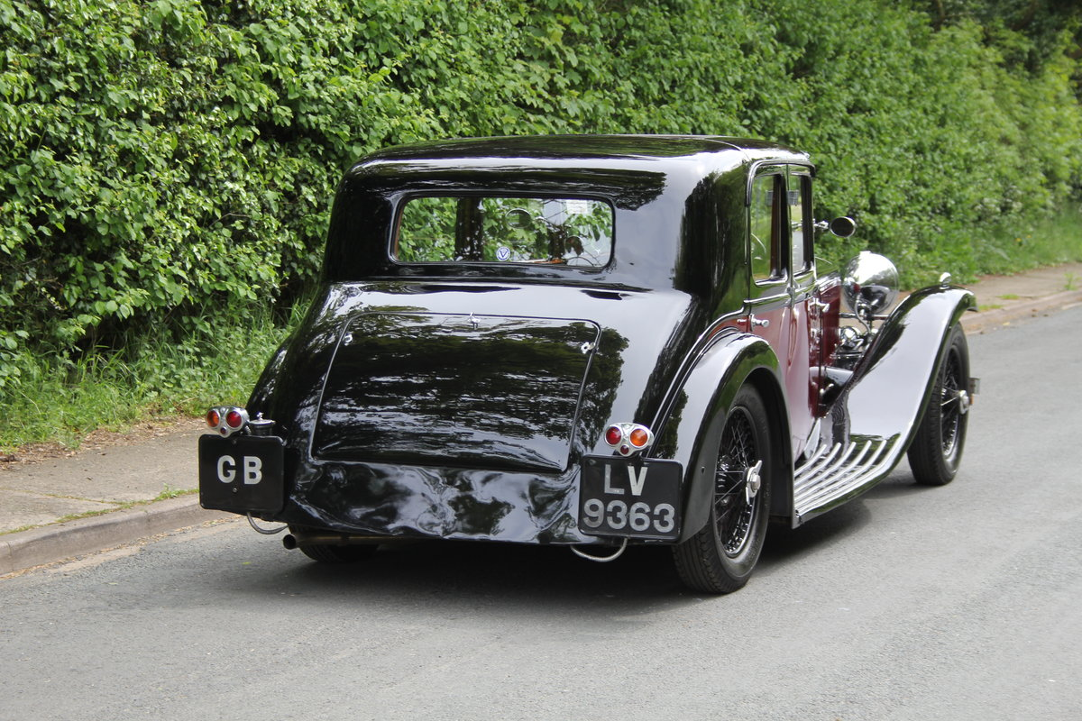 1934 Alvis Speed 20 SB Sports Saloon SOLD (picture 6 of 12)