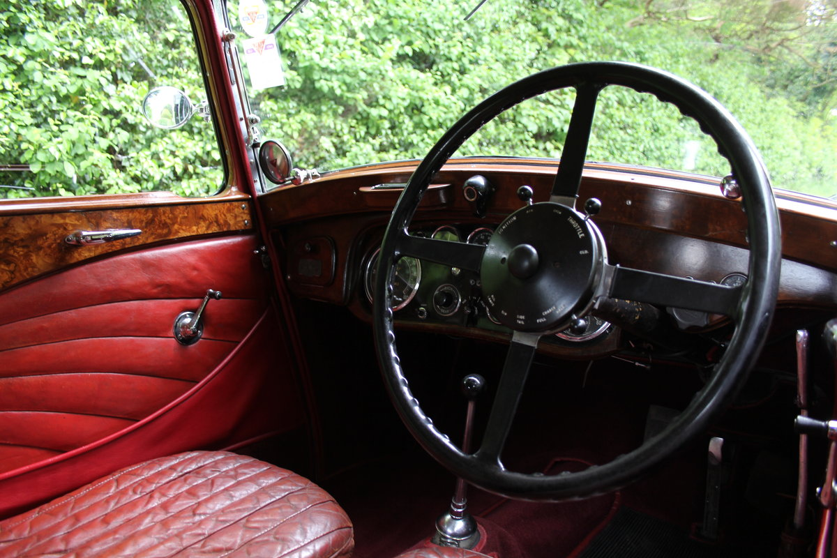 1934 Alvis Speed 20 SB Sports Saloon SOLD (picture 7 of 12)