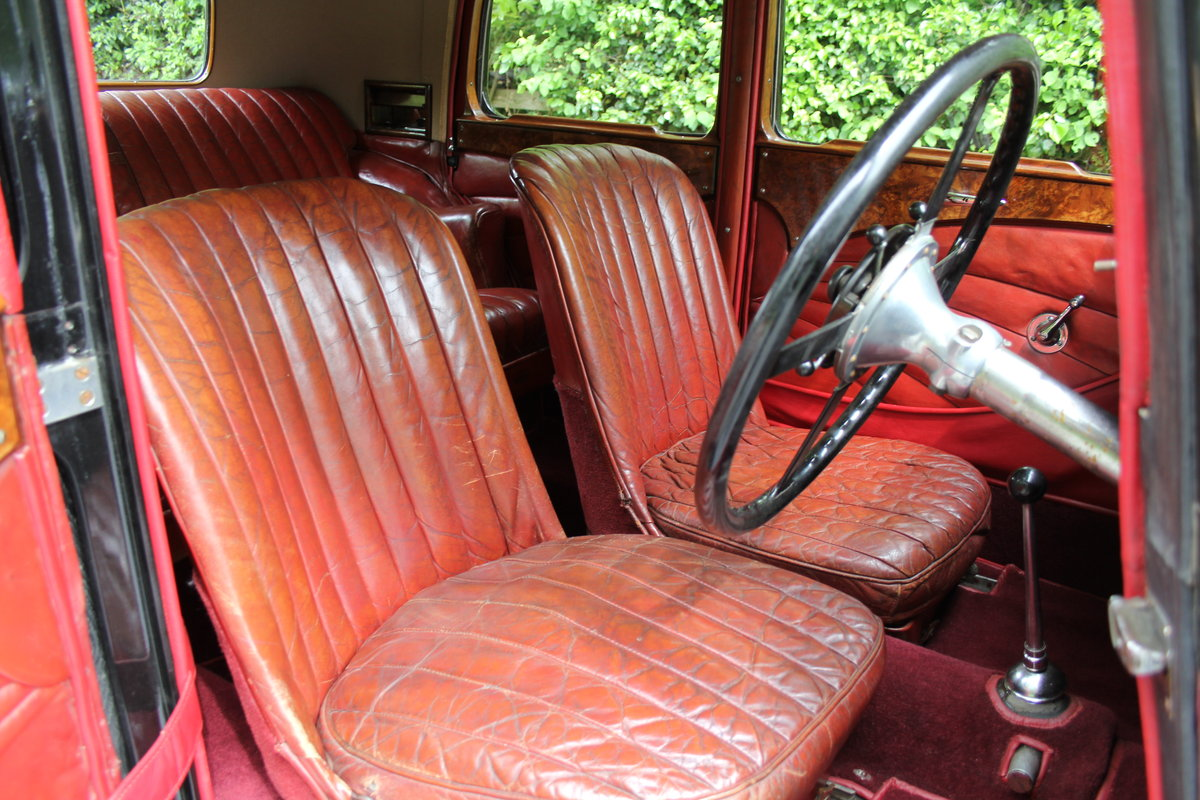 1934 Alvis Speed 20 SB Sports Saloon SOLD (picture 8 of 12)