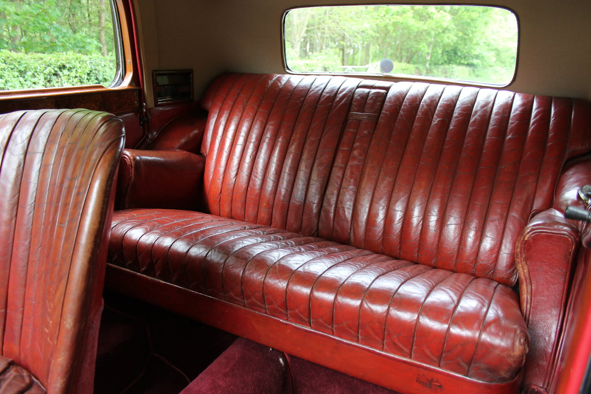 1934 Alvis Speed 20 SB Sports Saloon For Sale (picture 9 of 12)
