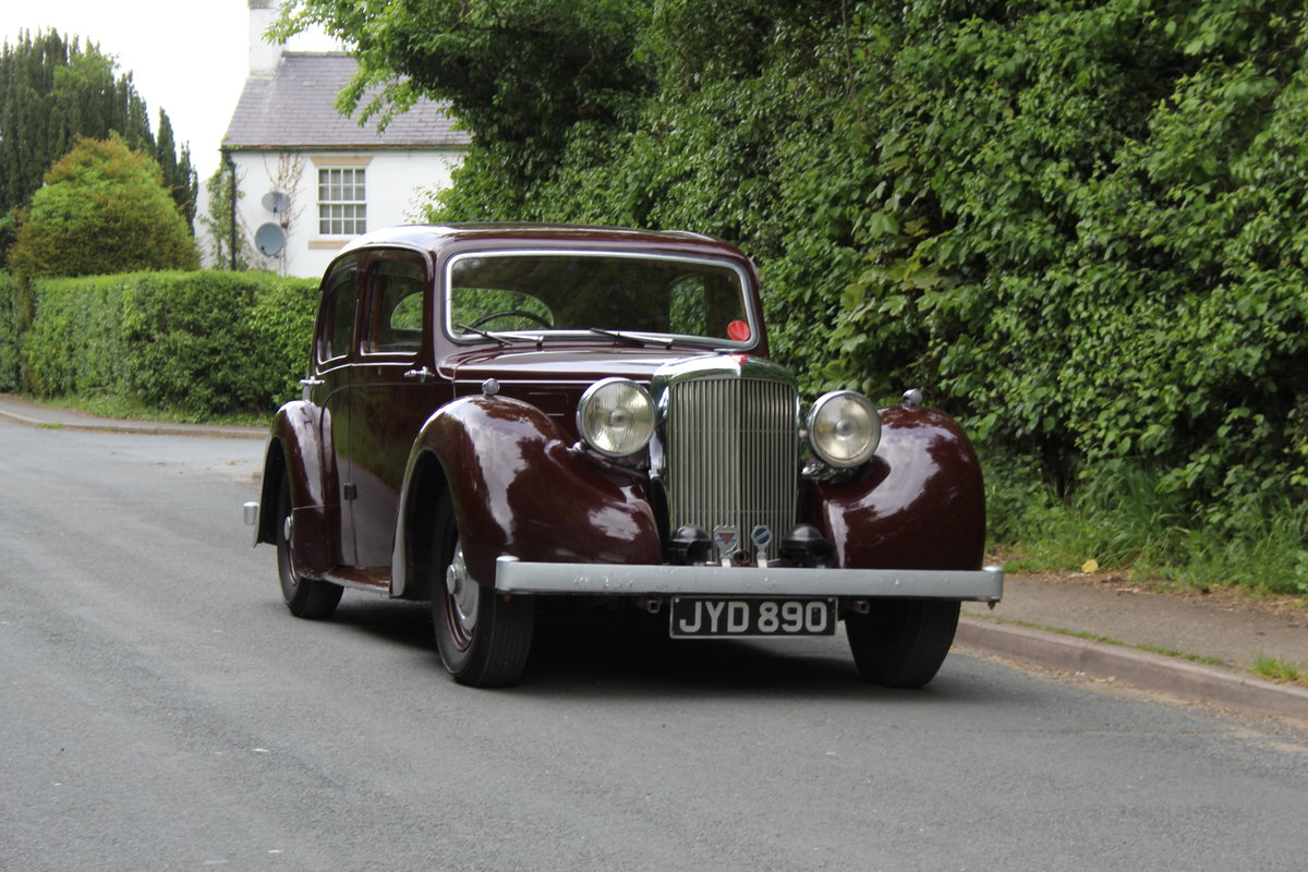 1948 Alvis TA 14 Saloon - Delightful older restoration SOLD (picture 1 of 12)