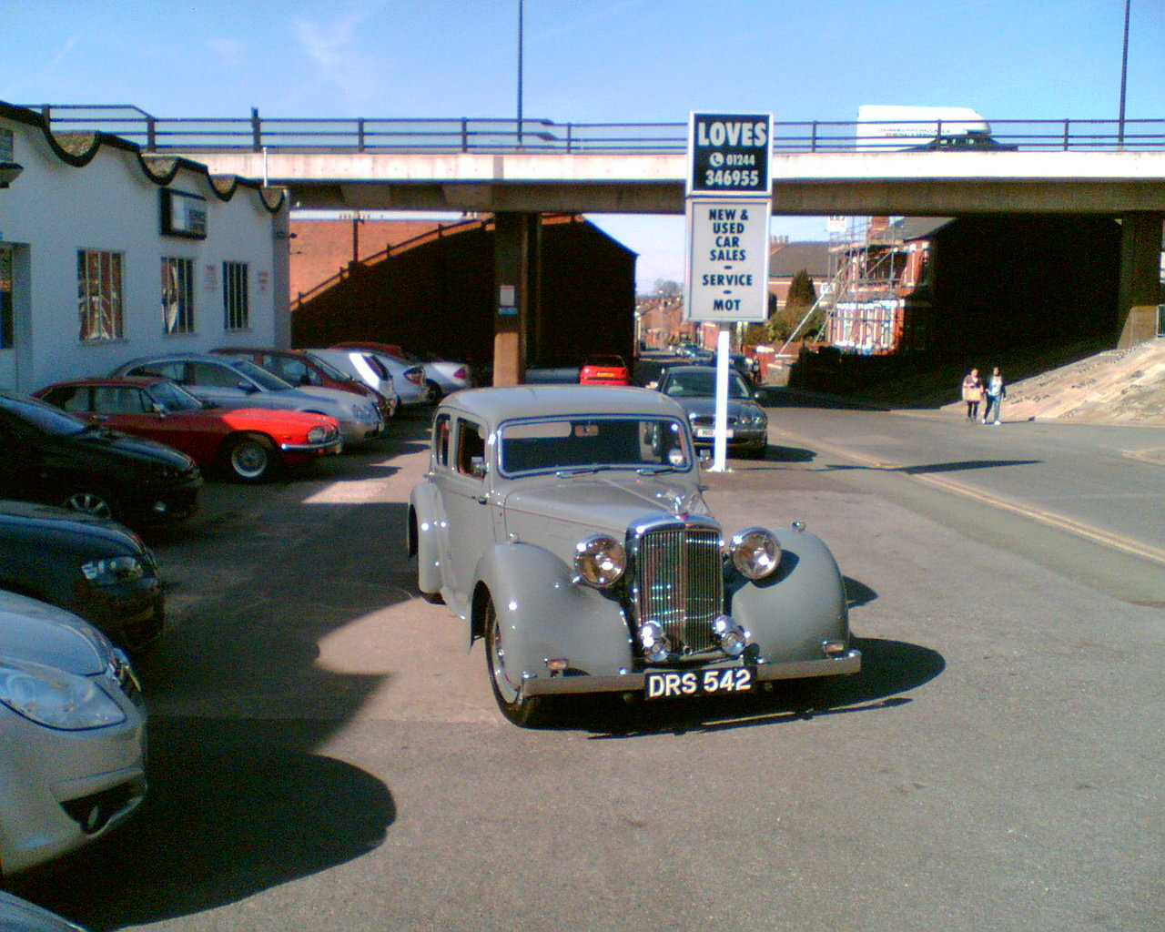 1950 Alvis TA14 Mulliner Saloon For Sale (picture 1 of 4)