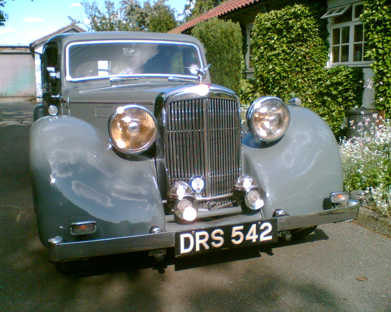 1950 Alvis TA14 Mulliner Saloon For Sale (picture 2 of 4)