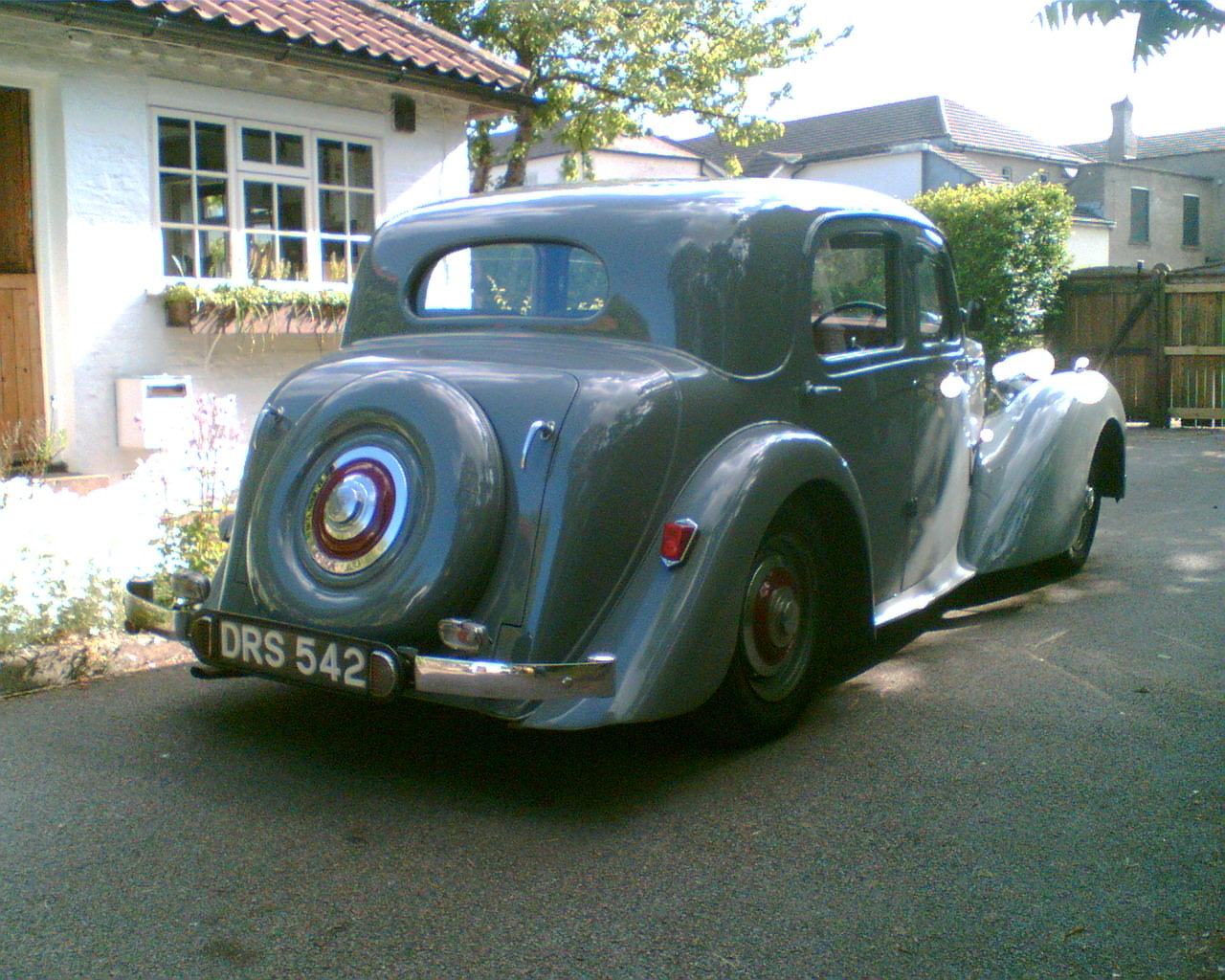 1950 Alvis TA14 Mulliner Saloon For Sale (picture 3 of 4)