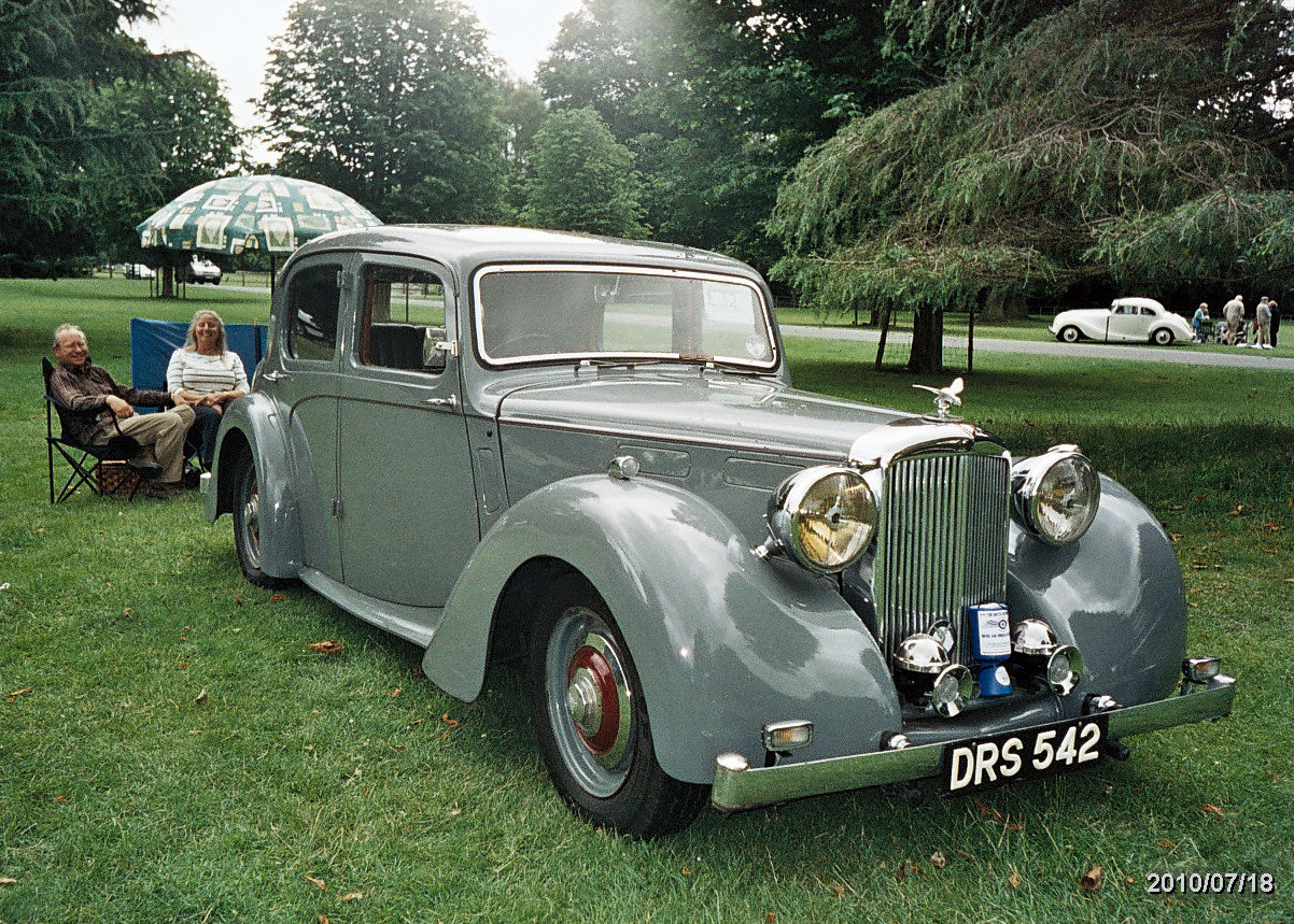 1950 Alvis TA14 Mulliner Saloon For Sale (picture 4 of 4)