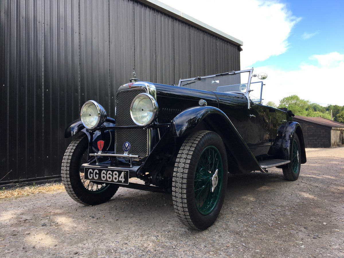1932 Alvis 12/60 TL Four Seat Tourer RESERVED SOLD (picture 1 of 6)