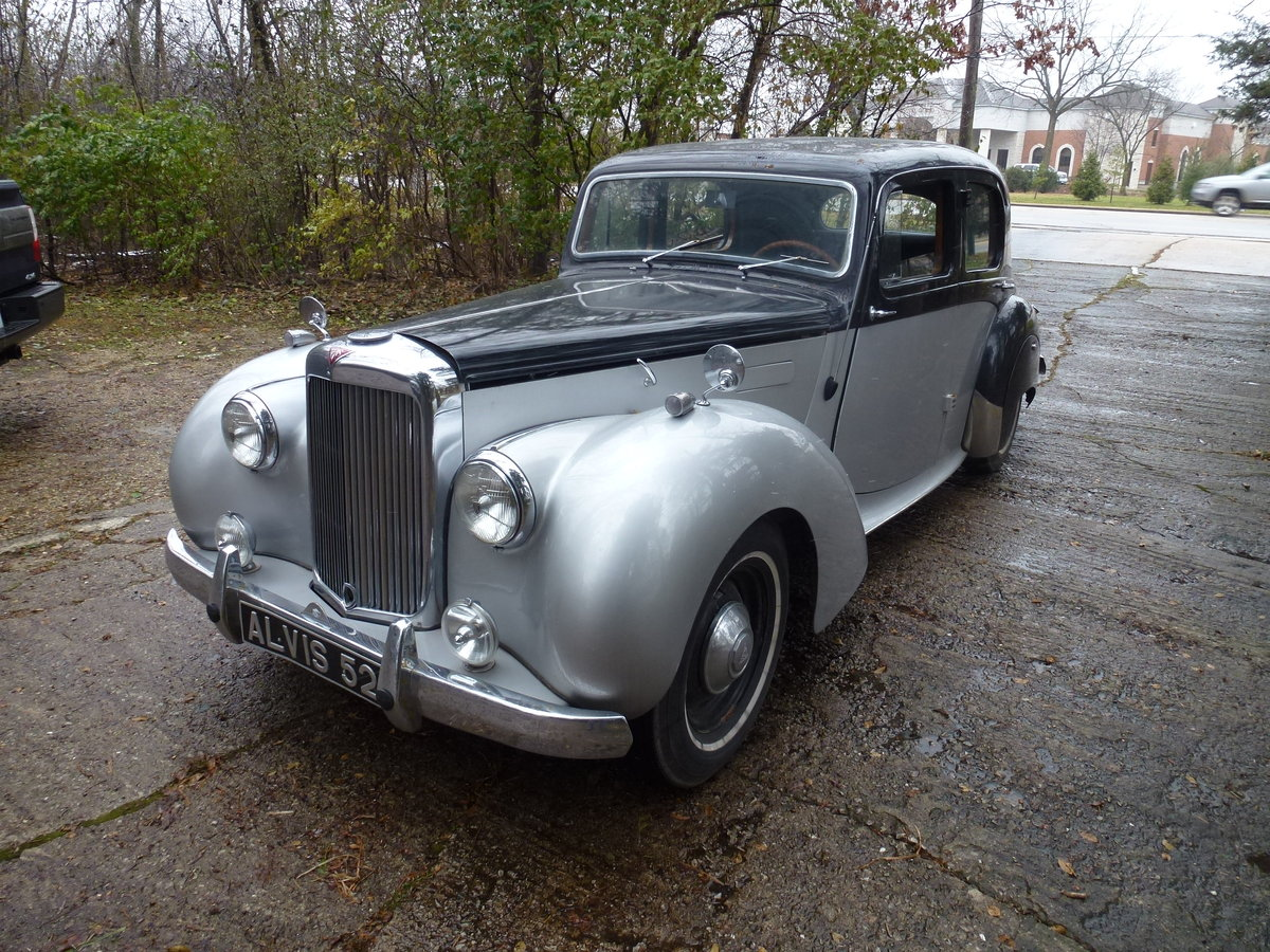 1952 Alvis TA21 Mulliners Saloon LHD For Sale (picture 1 of 6)