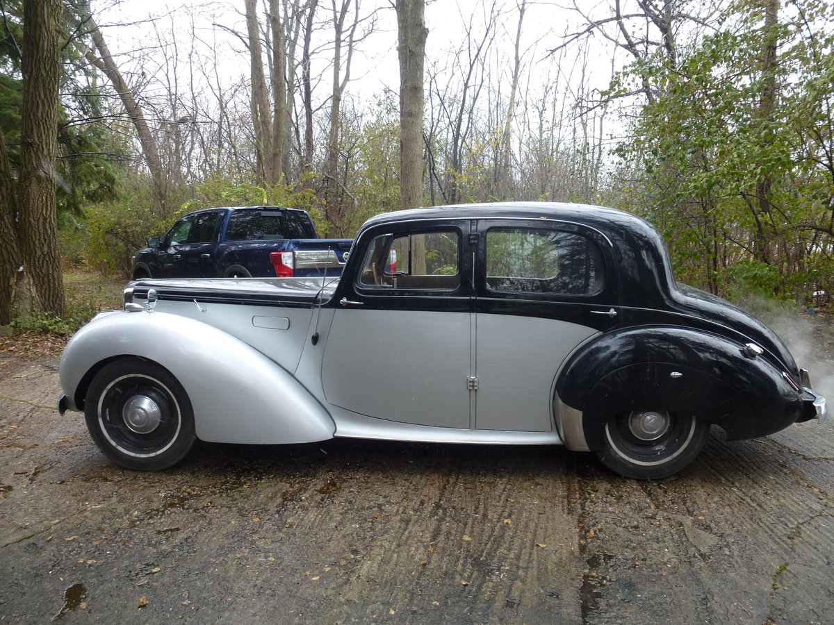 1952 Alvis TA21 Mulliners Saloon LHD For Sale (picture 3 of 6)