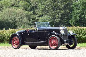 1931 Alvis 12/60 TK Beetleback For Sale