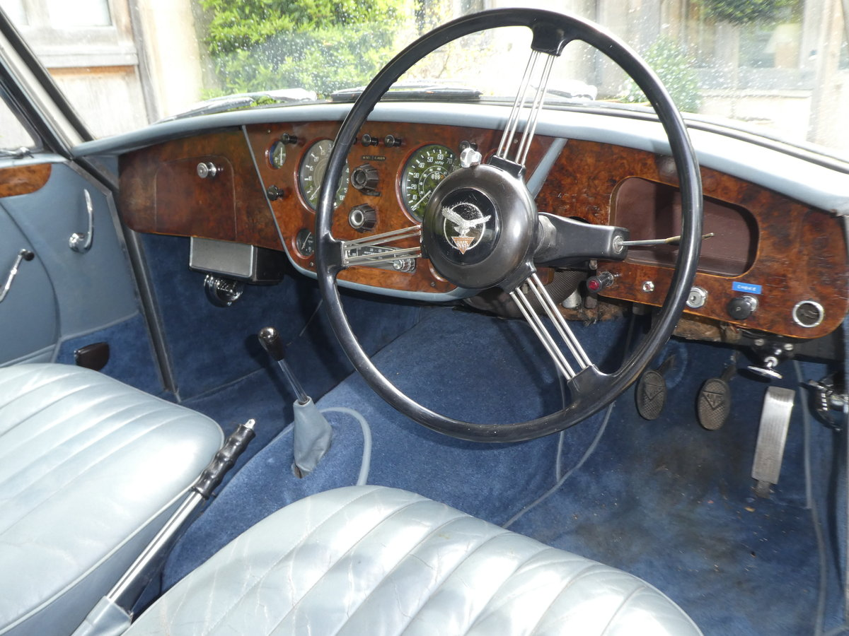 1961 Alvis TD21 Sports Saloon by Park Ward at auctionJune 15 SOLD by Auction (picture 1 of 1)