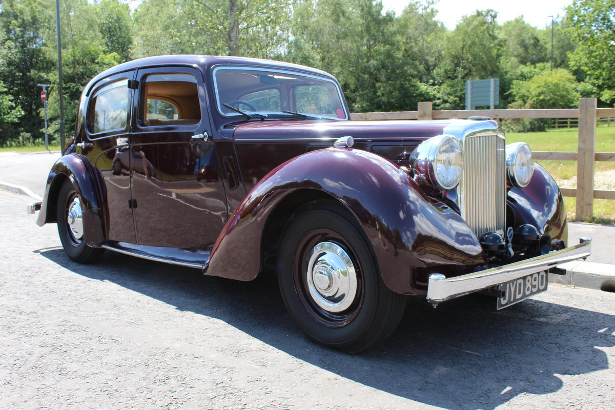 1948 Alvis TA 14 Saloon with Sliding Sunshine Roof  SOLD (picture 1 of 6)
