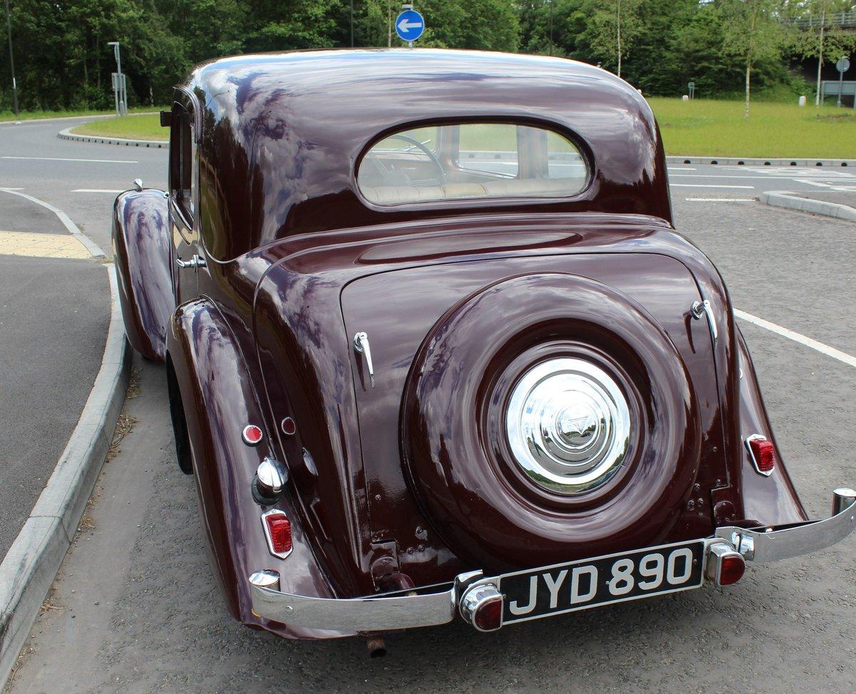 1948 Alvis TA 14 Saloon with Sliding Sunshine Roof  SOLD (picture 4 of 6)