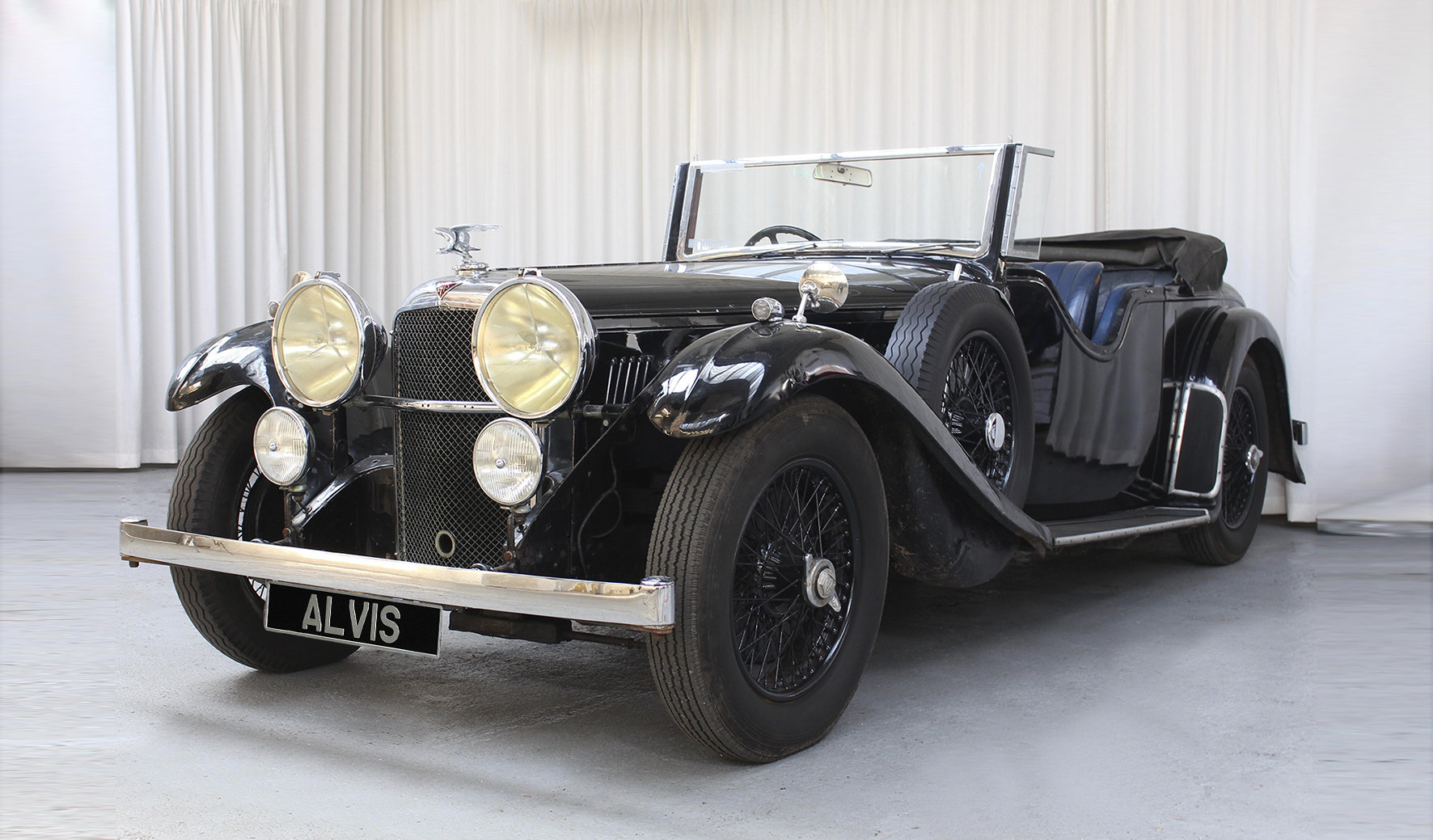 1933 Speed 20 Tourer by Marshalls For Sale (picture 2 of 6)